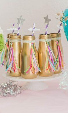 Unicorn Birthday Ideas, Unicorn party, Unicorn Printables, Unicorn Desserts, Unicorn Party Ideas (Milk Bottle Cases)
