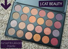 J.CAT Beauty Sunset Boulevard Eyeshadow Palette