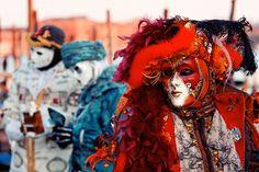 Venedik'ten karnaval görüntüleri