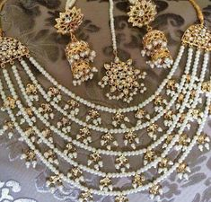 Fulfill a Wedding Tradition with Estate Bridal Jewelry Indian Wedding Jewelry, Bridal Jewelry, Silver Jewelry, Silver Necklaces, Pakistani Jewelry, Gothic Jewelry, Indian Bridal, Hair Jewelry, Silver Ring