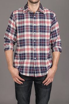 Long Sleeve Flannel Shirt / by Kevin's Mens Flannel, Flannel Shirts, Flannels, Latest Clothes For Men, Men Clothes, Men Warehouse, Jack Threads, Mens Fashion, Fashion Outfits