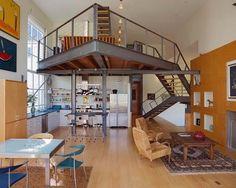 Loft con tres pavimentos