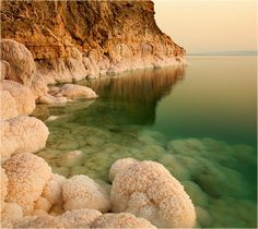 The Dead Sea by Constance :) The Dead Sea is a salt lake bordering Jordan to the east and Israel and the West Bank to the west.