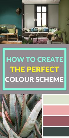 How to create the perfect colour scheme, using colours from your favourite palette. If you can never find the right colour, hue or shade to go with another, there are some top tips and ideas in this post for doing just that, which you might not have thought of before!