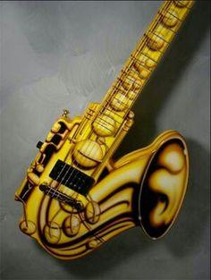 Sax guitar