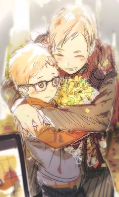 Find images and videos about cute, anime and haikyuu on We Heart It - the app to get lost in what you love. Haikyuu Ships, Haikyuu Fanart, Haikyuu Anime, Haikyuu Karasuno, Tsukishima Kei, Anime Manga, Anime Guys, Anime Art, Kagehina