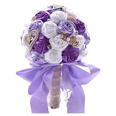 Kelaixiang Satin Rose Flowers Silk Ribbon Wedding Bouquet... http://www.amazon.com/dp/B01F91BMTW/ref=cm_sw_r_pi_dp_zXZrxb1ES440Q