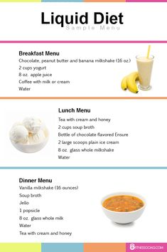 Liquid Diet Plan - Weight Loss Results Before and After .