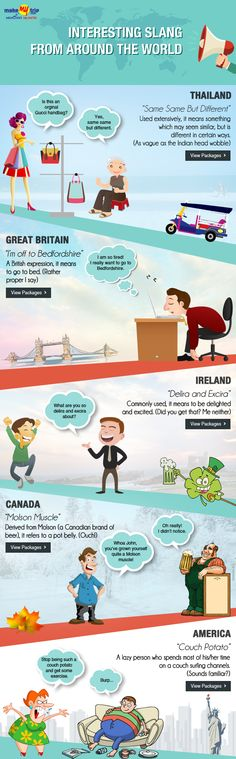 Speak the Lingo: Interesting Slang From Around The World #travel #quirks