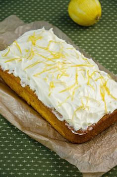 carrot plum loaf with lemon cream cheese frosting  DIY--follow basic banana bread recipe but substitute plums for bananas. Add carrots for bulk.