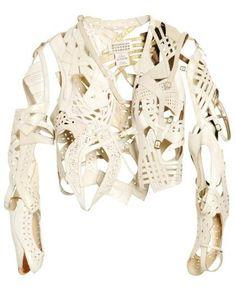 Martin Margiela Artisinal - sandals assembled as a jacket