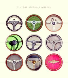 A Search For The Best Vintage Steering Wheels - Petrolicious Vintage Cars, Delicate, Steering Wheels, Good Things, Crystals, Clocks, Vw, Search, Inspiration