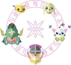 Digimon: Crest of Light by Sindor