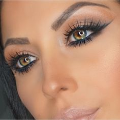 Beautiful Eye Color! #eye #color  I want colored contact lenses just like her eyes <3