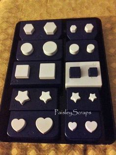 Creative Memories Punches Hexagon Stars Circles Hearts Squares Reg Mini | eBay