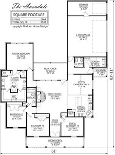 Madden Home Design   The Avondale | House Plans | Pinterest | Home Design,  Home And The Ou0027jays