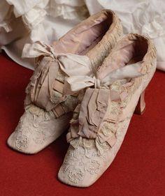 """Shoes of Empress Maria Feodorovna of Russia. """"AL"""""""