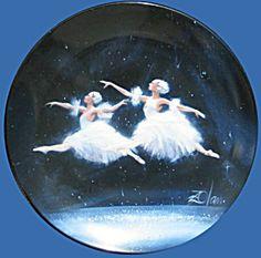 Dance Of The Snowflakes: Nutcracker Donald Zolan Plate