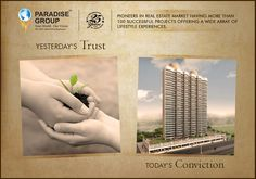 Paradise Group  Yesterday's Trust, Today's Conviction  www.paradisegroup.co.in  #paradise #paradisebuilders #realestate #luxury #luxurioushouse #realtor #propertymanagement #bestpropertyrates #homesellers #bestexperience #homebuyers #dreamhome #mumbai