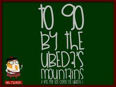 Aprende inglés con el profesor Mr. Picman: To go by the Ubeda's mountains (Irse por los cerros de Úbeda)