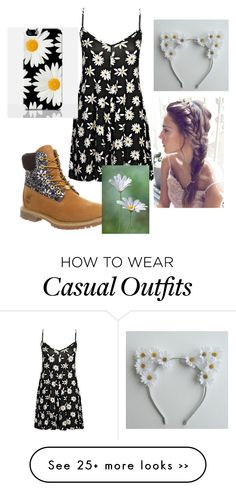 """Cute/Casual Outift with Daisy's"" by officialfashionellie on Polyvore"