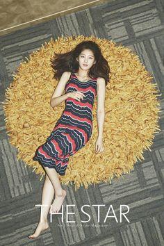 Gong Seung Yeon - The Star Magazine July Issue Korean Actresses, Actors & Actresses, Jonghyun Seungyeon, Look Fashion, Girl Fashion, Gong Seung Yeon, Star Magazine, Korean Star, Female Stars