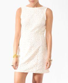 Paisley Lace Sheath Dress | FOREVER21