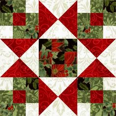 Star Crossed Christmas Quilt Block and options with rearranging the block to show different quilts Star Quilt Blocks, Star Quilts, Quilt Block Patterns, Pattern Blocks, Block Quilt, Christmas Blocks, Christmas Quilt Patterns, Christmas Sewing, Christmas Quilting