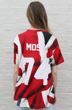 Kate Moss Hate Tee Olkate Print