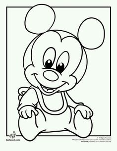 printable mickey mouse disney babies coloring pages printable coloring pages for kids