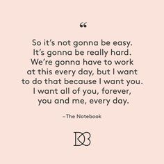 the notebook love quotes 2 - David's Bridal Blog