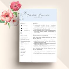 Professional Resume Template by My Resume on @creativemarket