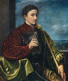 Giovanni Gerolamo Savoldo - Portrait of a Knight