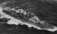 HMS Fiji (58) of the Royal Navy - British Light cruiser of the Fiji class - Allied Warships of WWII - uboat.net