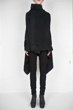 I am in love with this wrap from DRKSHDW by Rick Owens Women!