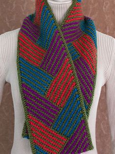 Knitting - Plaited Parquet - #REK0698