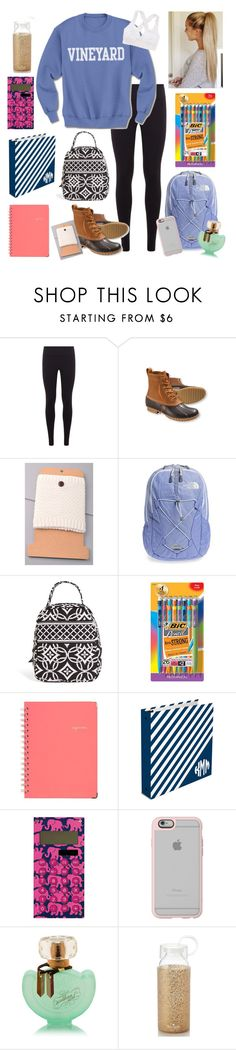 """""""OOTD"""" by bowhunter1498702 ❤ liked on Polyvore featuring Under Armour, L.L.Bean, The North Face, Vera Bradley, BIC, Lilly Pulitzer, Casetify, Kate Spade and Aerie"""