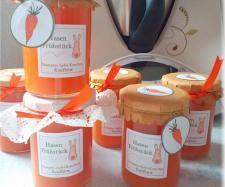 Apfel-Orangen-Möhrenmarmelade