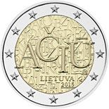 2 euro Lithuanian language - 2015 - Series: Commemorative 2 euro coins - Lithuania