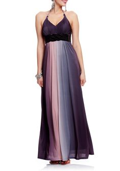 2b | Cecil Ombre & Braid Trim Maxi Dress - Gorgeous!!