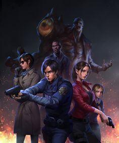 Resident Evil Preferences - Dating William Birkin would include Resident Evil 3 Remake, Resident Evil Anime, Resident Evil Monsters, Geeks, Evil Games, Games Zombie, Albert Wesker, Leon S Kennedy, Evil Art