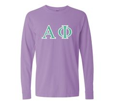 Our Glitter Flake letters are so pretty! Let your letters sparkle bright! Custom Greek Apparel, Greek Clothing, Sparkle, Graphic Sweatshirt, Glitter, Bright, Sweatshirts, Pretty, Sweaters