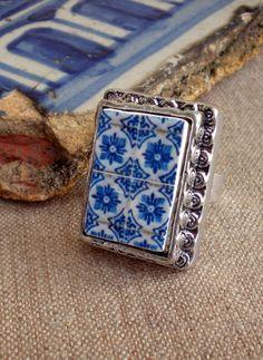 portuguese tile jewelry