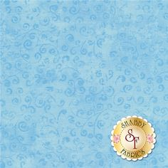 Quilting Temptations 22542-BZ Powder Blue by Quilting Treasures