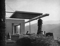giulio minoletti - villa per weekend, lago di como, italia, 1941  #architecture #italy #modernism