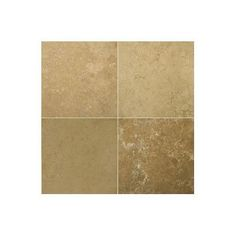 """Emser Tile Natural Stone 12"""" x 12"""" Travertine Field Tile in Noce Classic"""