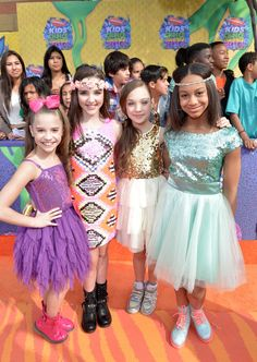 Dance Moms in Nickelodeon's 27th Annual Kids' Choice Awards - Red Carpet