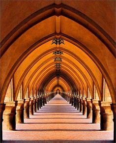 Beautiful Arched walkway.  By Katarina 2353, via Flickr