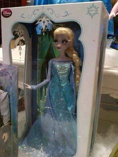 Limited edition Elsa doll. Disney's Frozen.