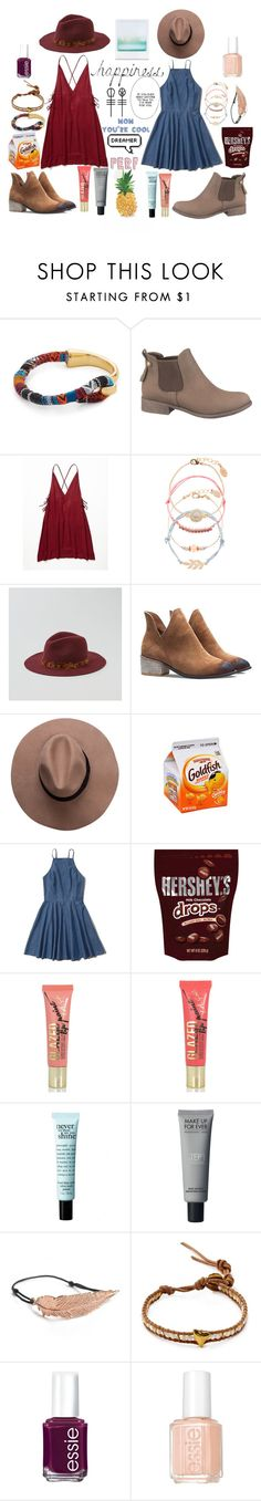"""""""Talley and Dakota #2"""" by retalleyation ❤ liked on Polyvore featuring Shashi, maurices, Free People, Accessorize, American Eagle Outfitters, Abercrombie & Fitch, Hershey's, Fiebiger, philosophy and LeiVanKash"""